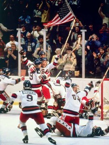 1980 USA hockey Victory Picture